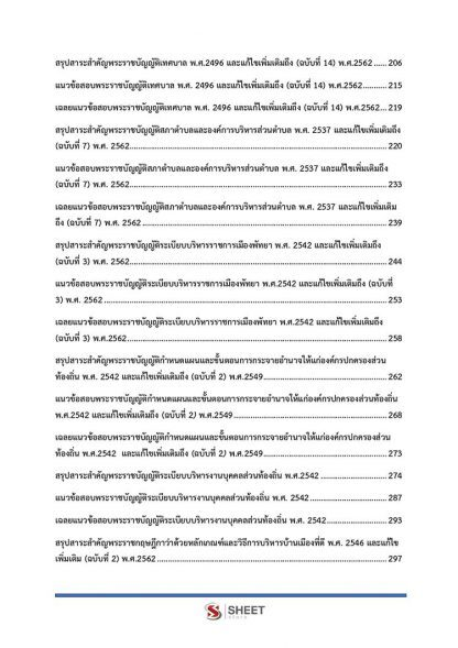 แนวข้อสอบ นักจัดการงานเทศกิจปฏิบัติการ ท้องถิ่น 2564