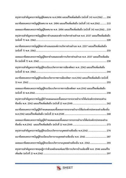 แนวข้อสอบ นักวิเคราะห์นโยบายและแผนปฏิบัติการ ท้องถิ่น 2564